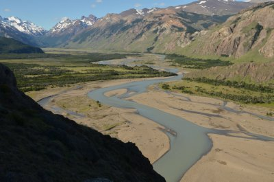 Rio de las Vueltas Valley