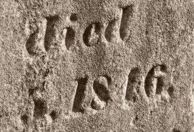 Gravestone Detail