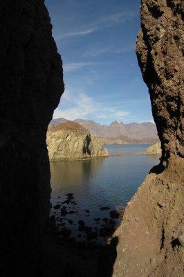 Isla Danzante Landscape