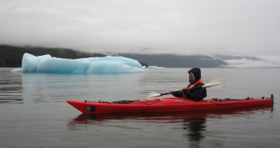Kayaking in Ice