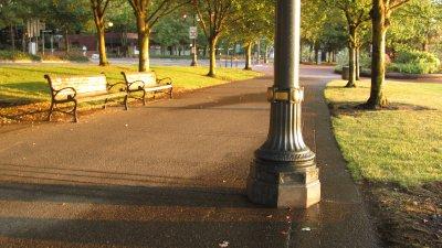 Portland Morning Scene