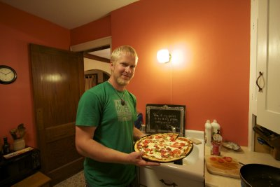 Another Pizza, Another Kitchen