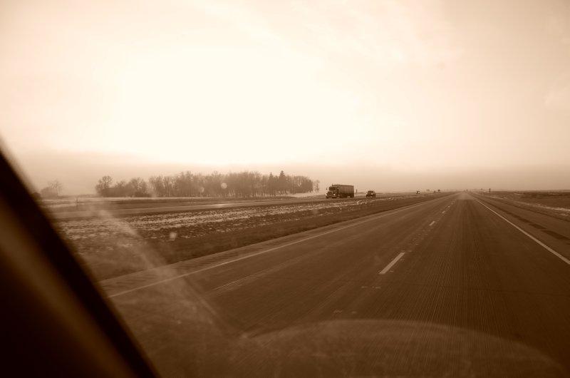 Flat and Foggy