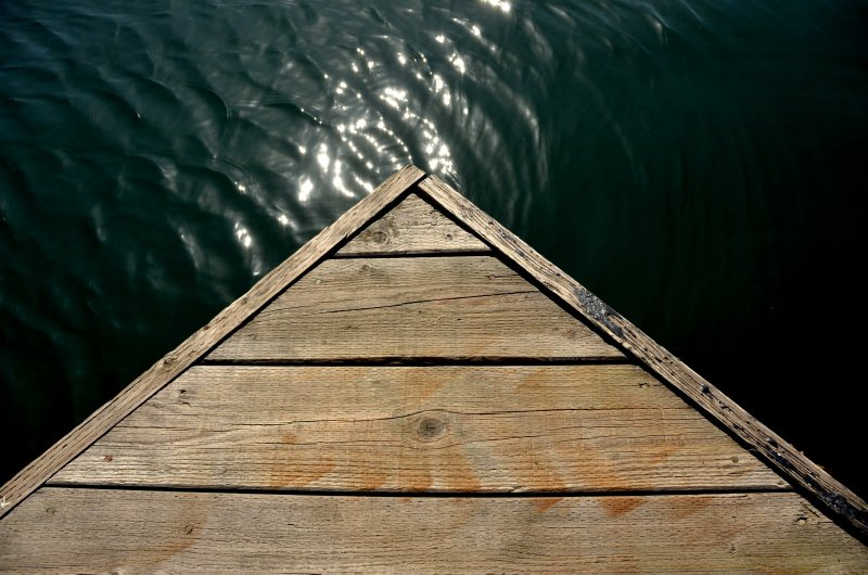 Wooden Dock Craftsmanship
