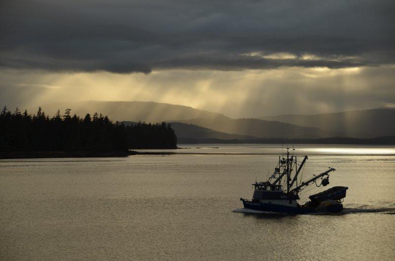 Alaskan Evening Scene