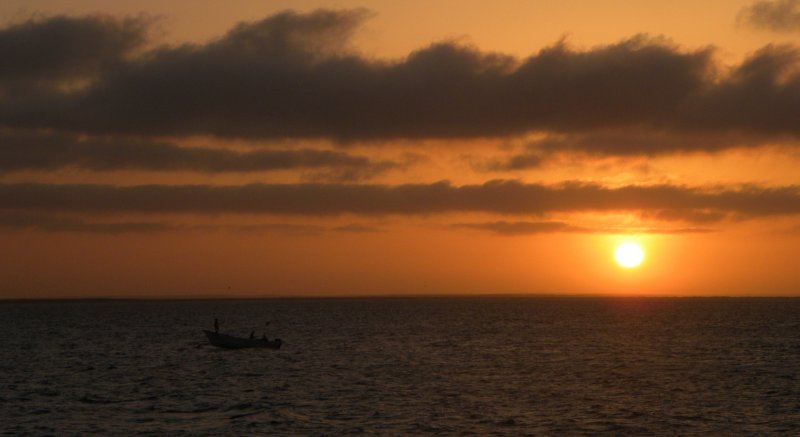 Mexican Fishermen at Dawn