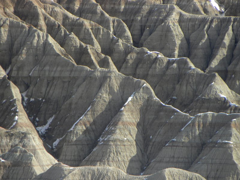 The Eroded Formations of the Badlands