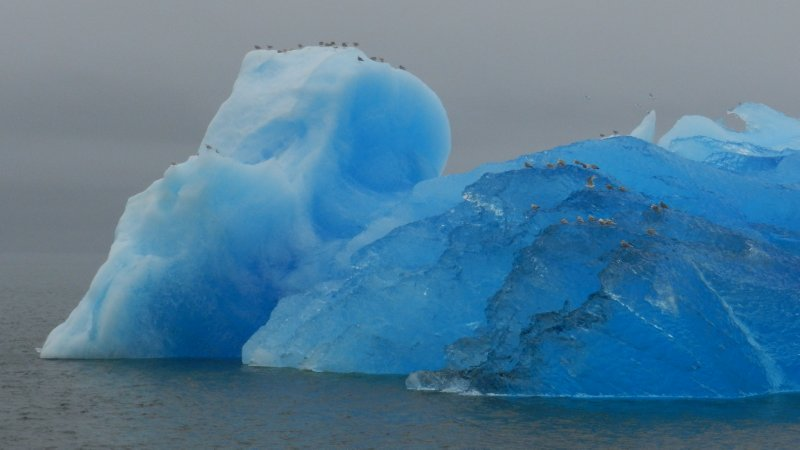 Glowing Iceberg