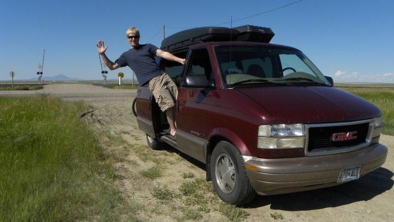 Me and my van at 200,000