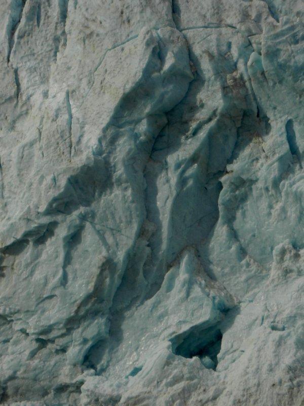 Glacier Face Detail