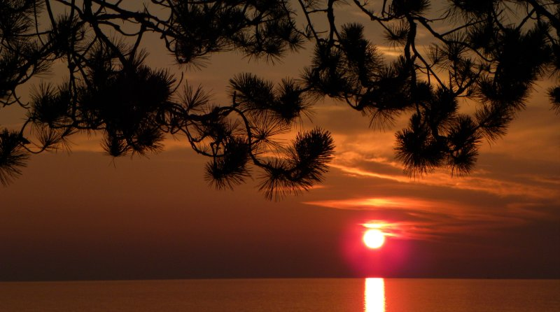 Sunset on Lake Superior