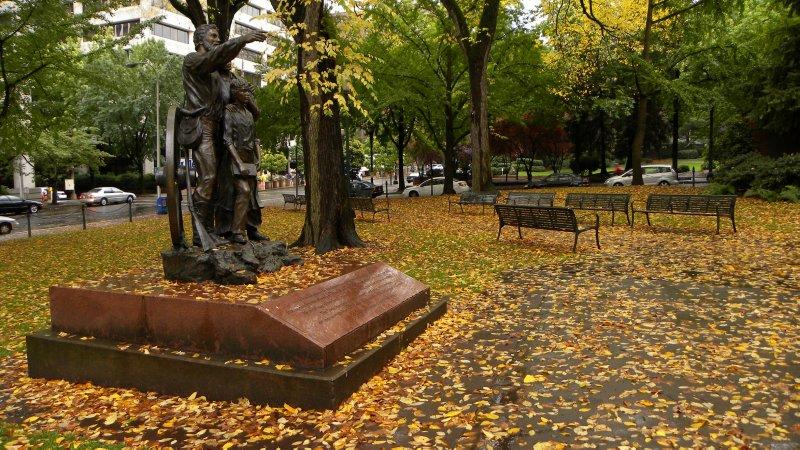 City Park Statues