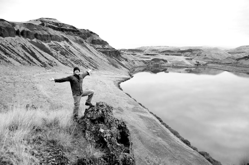 Self Portrait From the Highlands of the Palouse