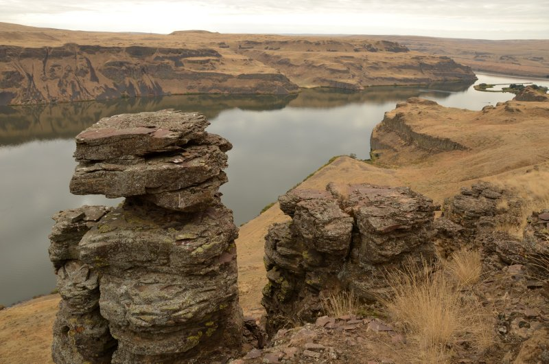 Basaltic Rock Formation and the Palouse