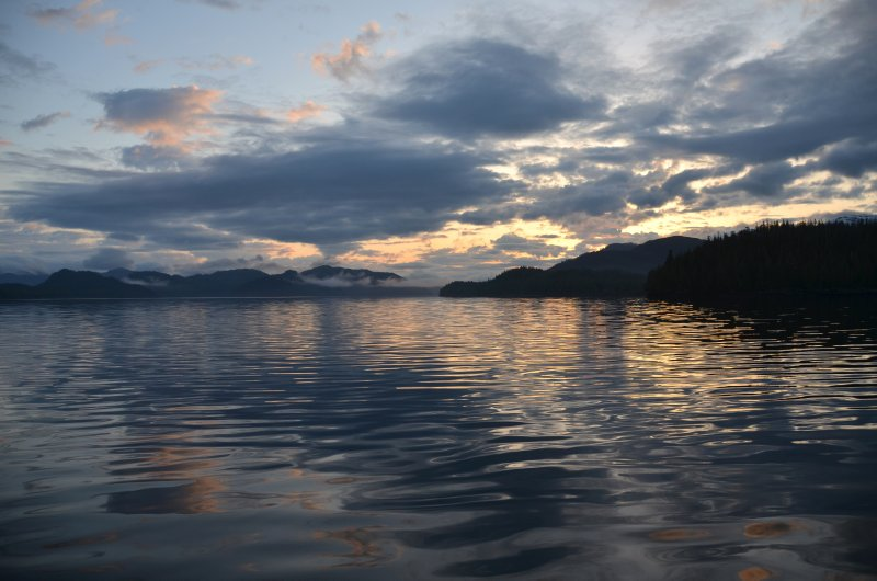 Sunrise South of Ketchikan