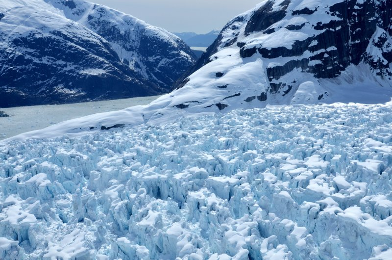 The LeConte Glacier