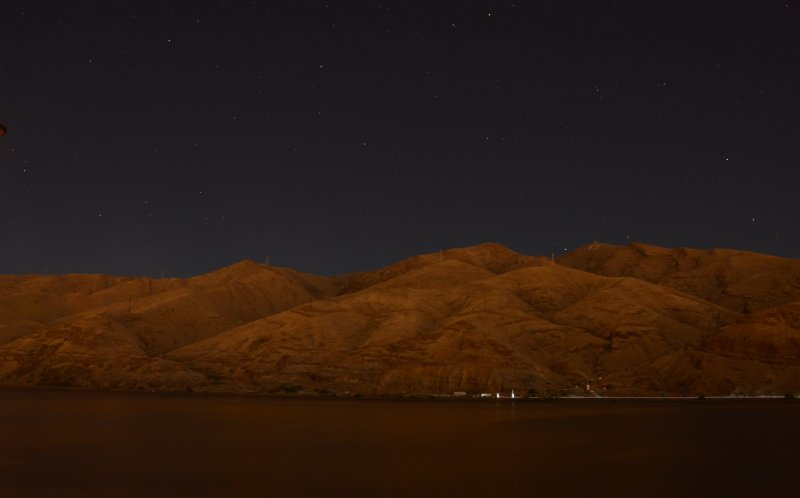 Night Scene On the Snake River