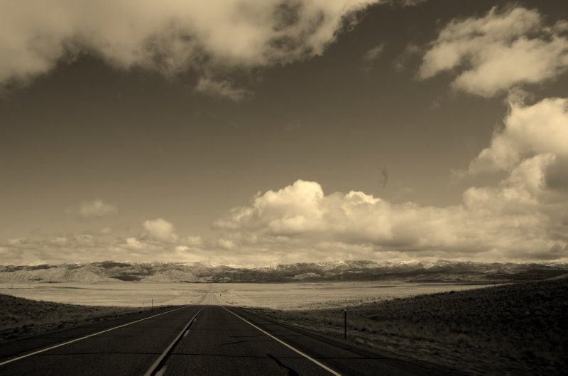 Wyoming Roadscape