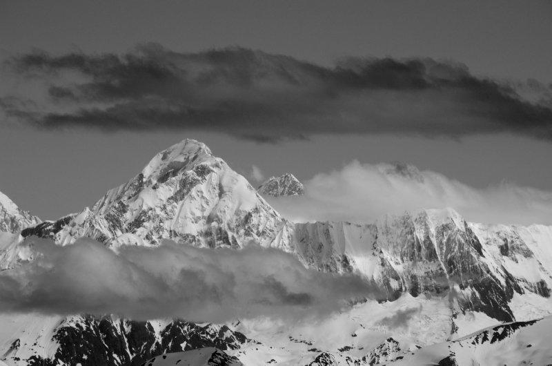 Cloud Forms and Mountain Peaks