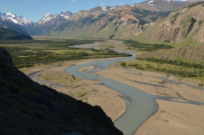 Rio de las Vueltas Valley