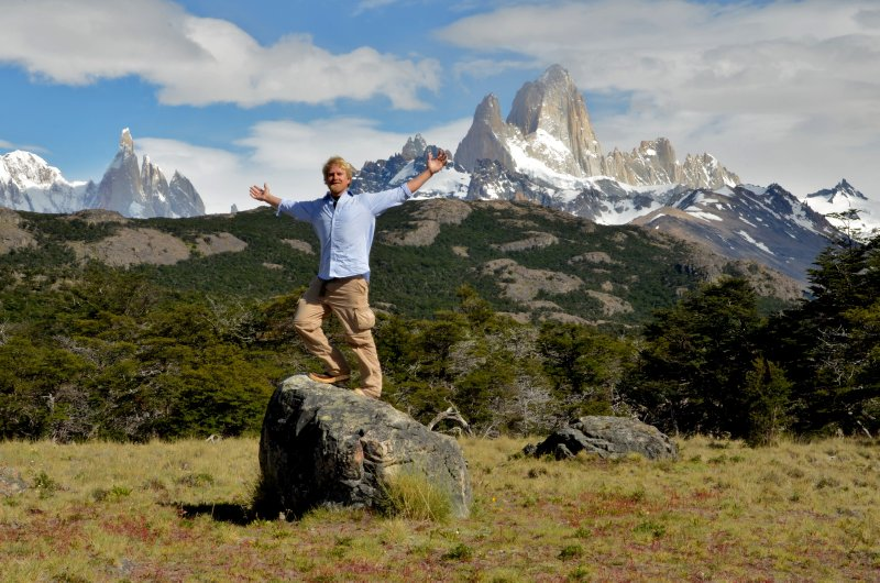 Cerro Torres, Cerro Fitz Roy and Me