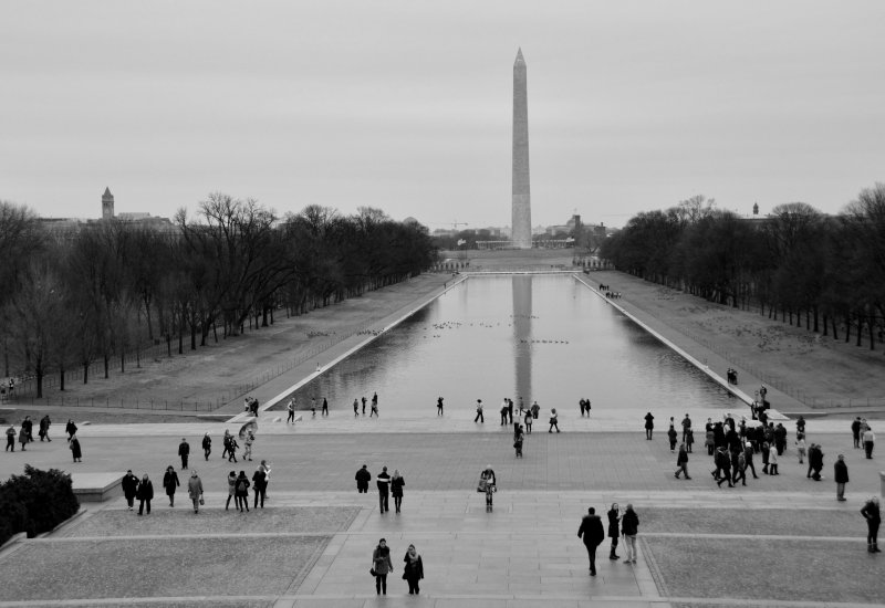 The Washington Monument and Viewing Pool