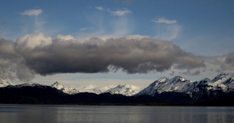 The Kenai Peninsula Mountain Range