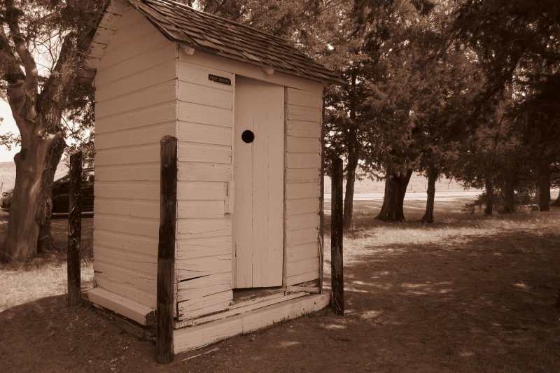 Roadside Outhouse