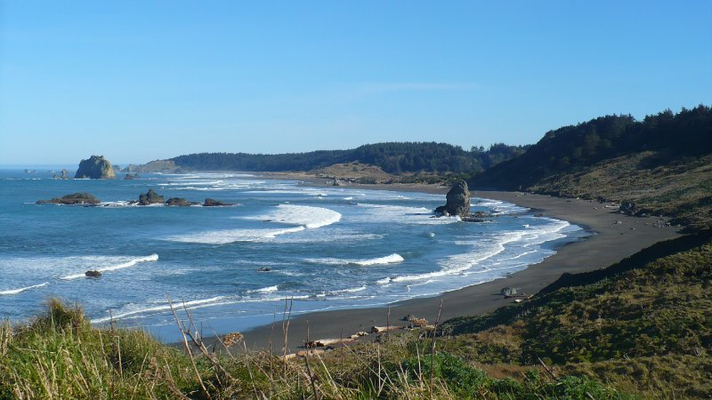 Cape Blanco Looking North