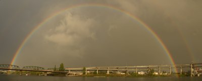 Rainbow of Portland