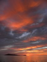 Dawn over Isla San Francisco