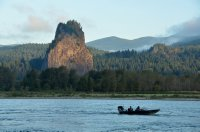 Fishermen at Beacon Rock