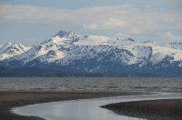 The Kenai Peninsula Mountains