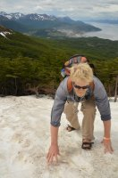 Climbing the Snowfield