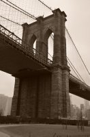 South Tower of the Brooklyn Bridge