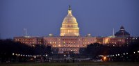 The Capital Building in the Evening