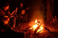 Banjos and a Bonfire