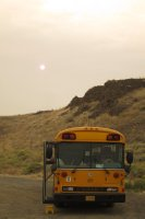 Bus and Sun