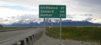 Turnagain Arm Distance