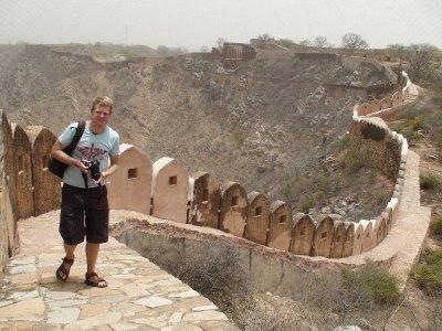 El fotografo de Nahargarh Fort (El Fuerte del Tigre)