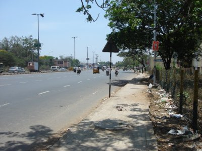 Dirty streets of Chennai