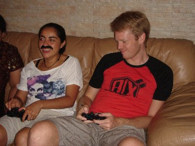 Playing PS3