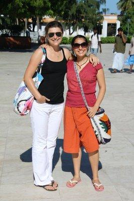 Carlita y Manola