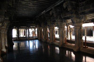 The ballroom at the wooden palace