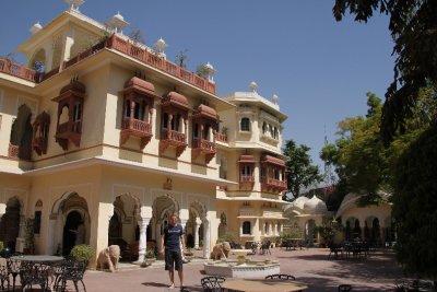 Henrik en nuestro palacio (hotel)
