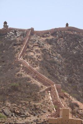 Muro de Amber Fort