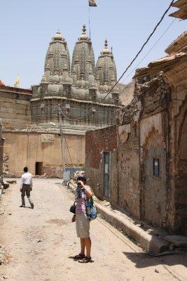 En camino a la viaja ciudad de Jaipur