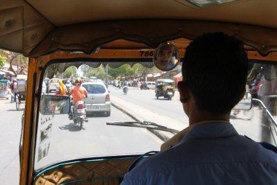 El chofer the rikshaw