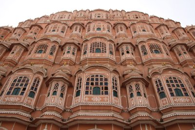 Hawa Mahal (Wind Palace) with over 950 windows