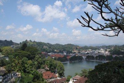 Buena vista de Kandy